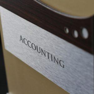 Biển tên & số văn phòng thiết kế đặc biệt