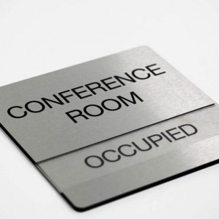 Biển phòng hội nghị, phòng họp với thanh chèn trạng thái