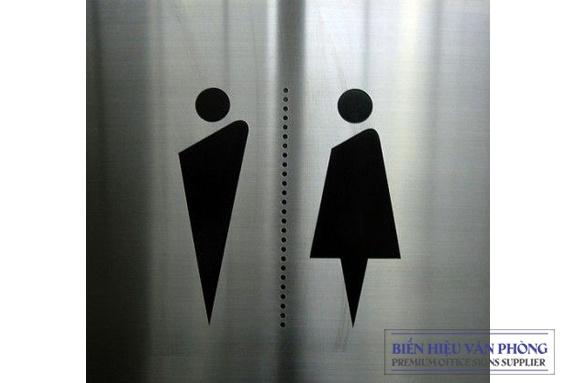Mẫu biển WC, Toilet signs độc và lạ