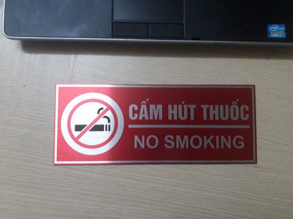 Biển cấm hút thuốc