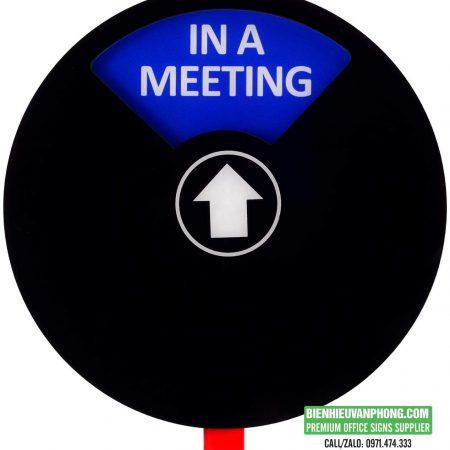 Nút trạng thái riêng tư hai trạng thái cho văn phòng hoặc gia đình hình tròn 10 cm