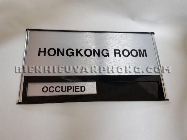Biển trượt phòng họp 2 trạng thái