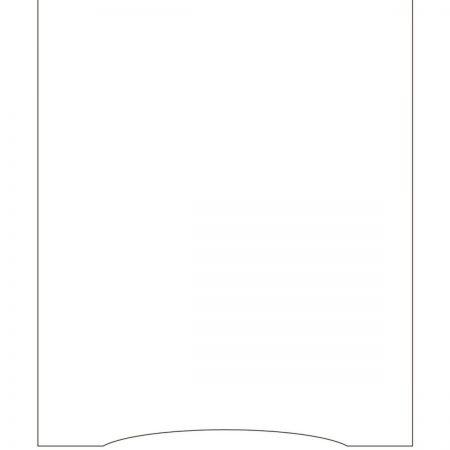 Khung gỗ chữ A khắc logo và nội dung - Hai mặt