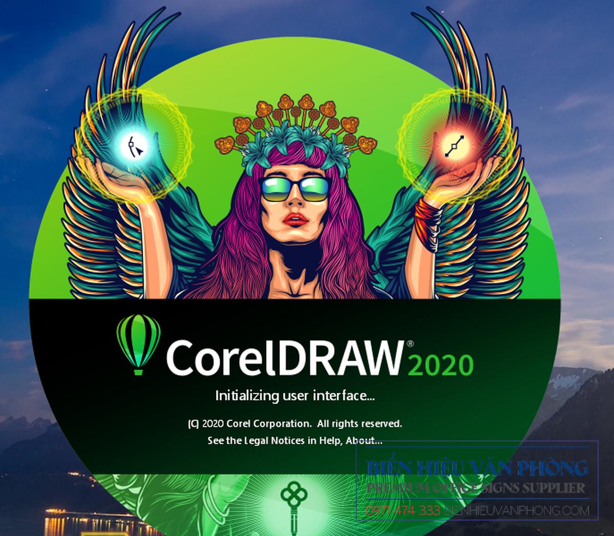 TẢI, DOWNLOAD PHẦN MỀM CORELDRAW 2020 FULL KEY KHÔNG CẦN CRACK