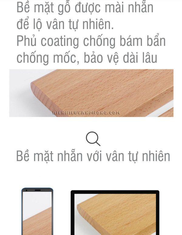 biển chức danh để bàn đế gỗ 2 mặt mica thay đổi