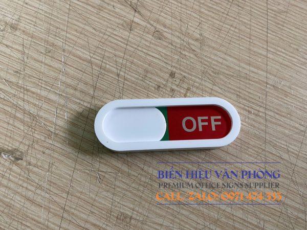 Nút trượt ON - OFF mini, Nút thay đổi trạng thái nhỏ gắn cửa